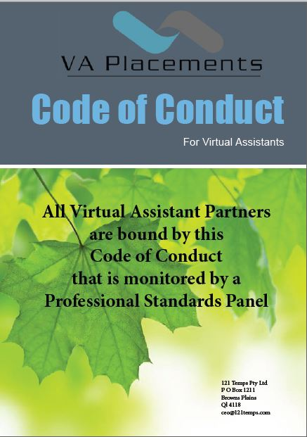 virtual assistants code of conduct